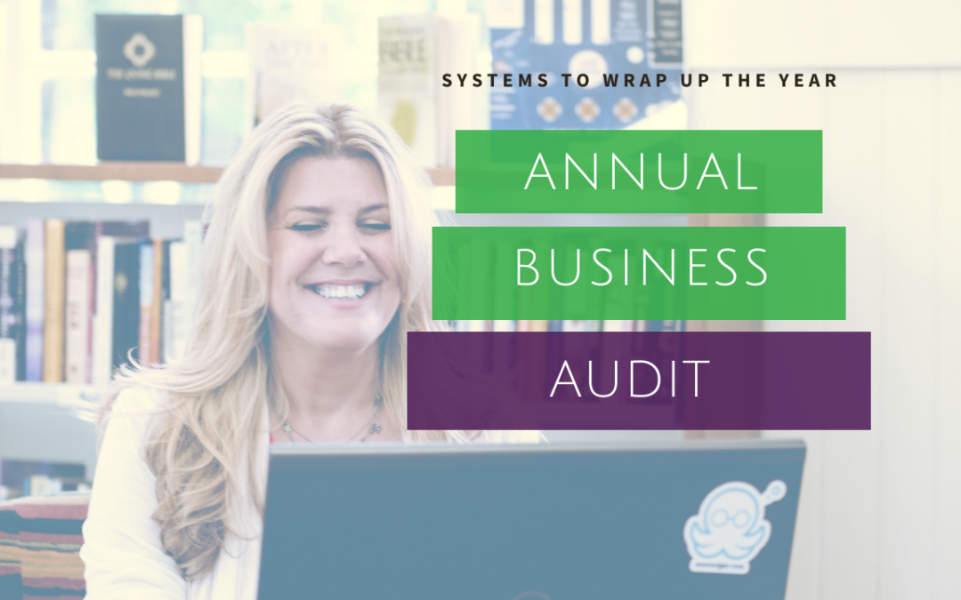 Systems to Wrap Up the Year – Annual Business Audit